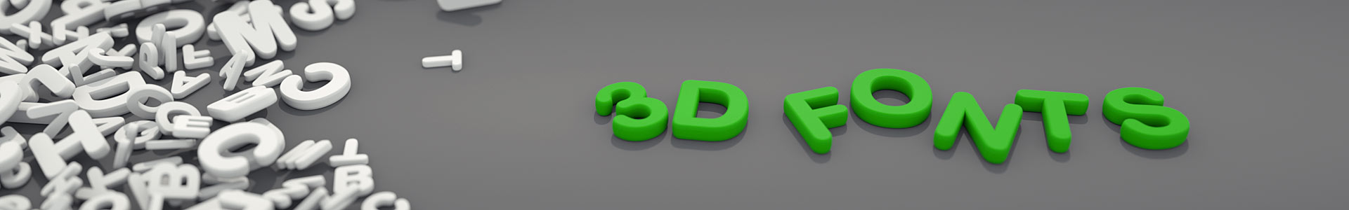 3d-fonts.com slide - 3d fonts, letters and signs at affordable prices