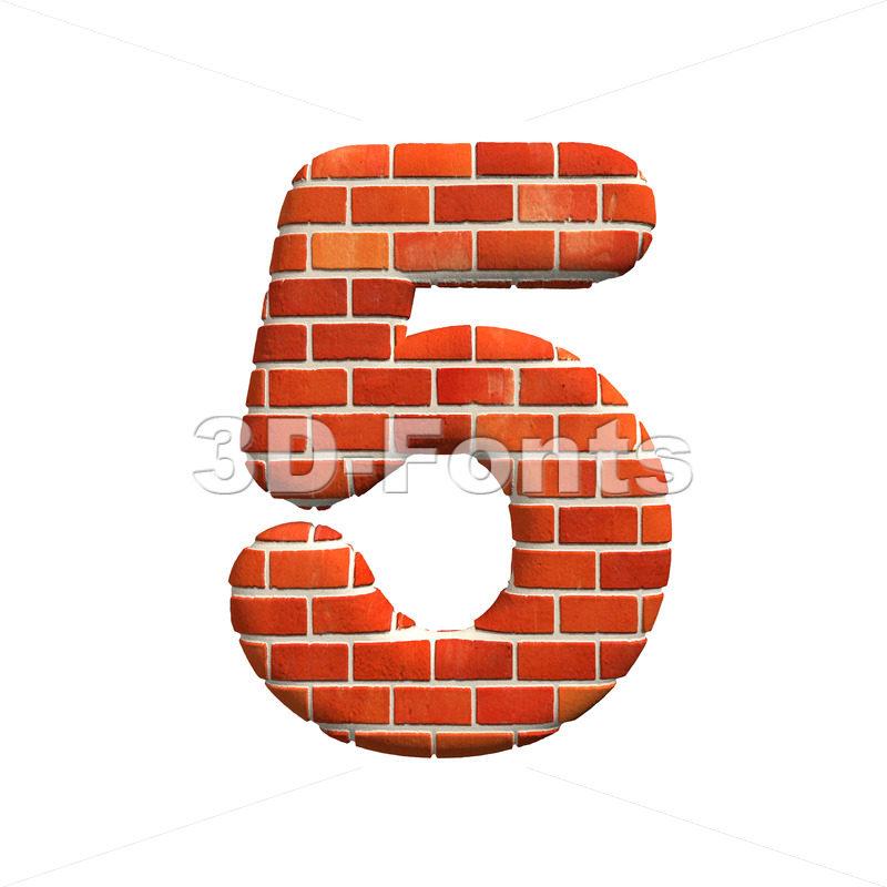 Brick number 5 – 3d digit