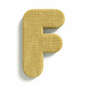Fabrics 3d fonts category