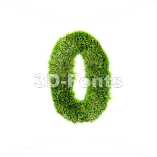 Grass number 0 – 3d digit