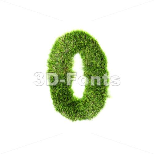 Grass number 0 – 3d digit