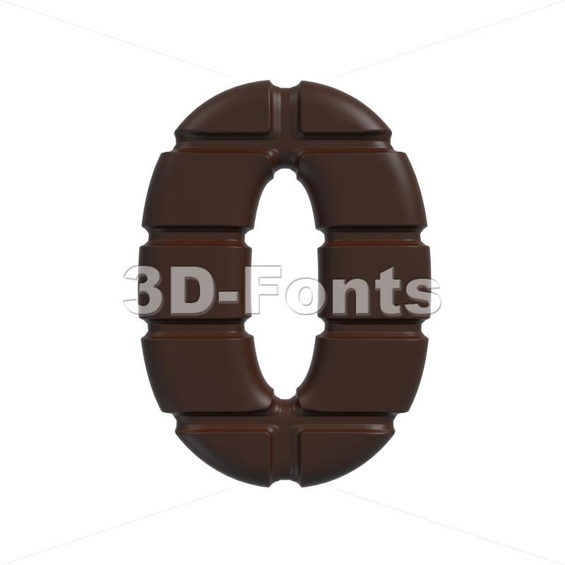 chocolate number 0 – 3d digit
