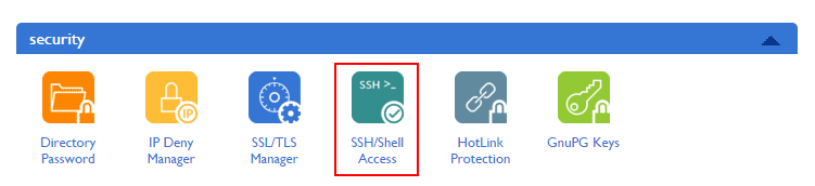 wordpress site backup - Shell Access