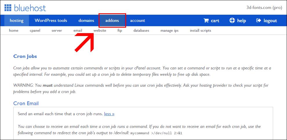 Woocommerce https migration - Bluehost certificate