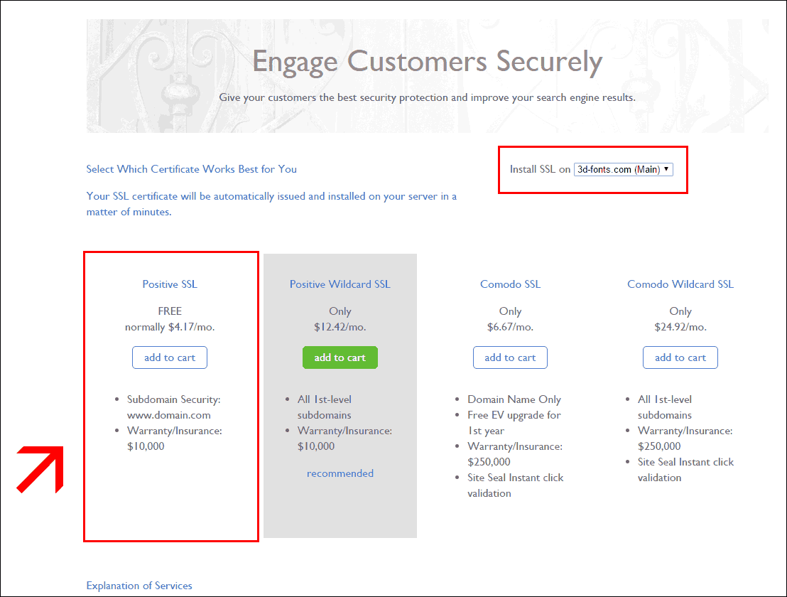Woocommerce ssl hhtps implementation on e commerce websites woocommerce https migration bluehost positive ssl certificate 1betcityfo Gallery