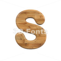 Wood font S - Uppercase 3d letter - 3D Fonts Collections   Top Quality Letters, Numbers and Symbols !
