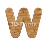 parquet font W - Capital 3d letter - 3D Fonts Collections   Top Quality Letters, Numbers and Symbols !