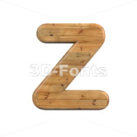 plank alphabet letter Z - Upper-case 3d font - 3D Fonts Collections   Top Quality Letters, Numbers and Symbols !