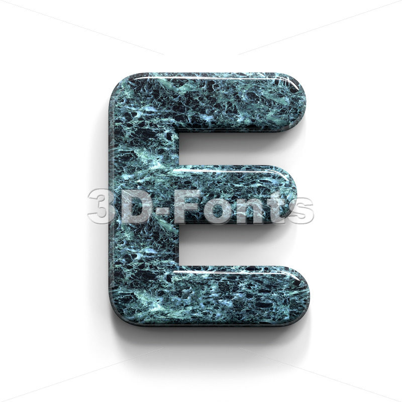 marble character E - Capital 3d letter - 3D Fonts Collections | Top Quality Letters, Numbers and Symbols !