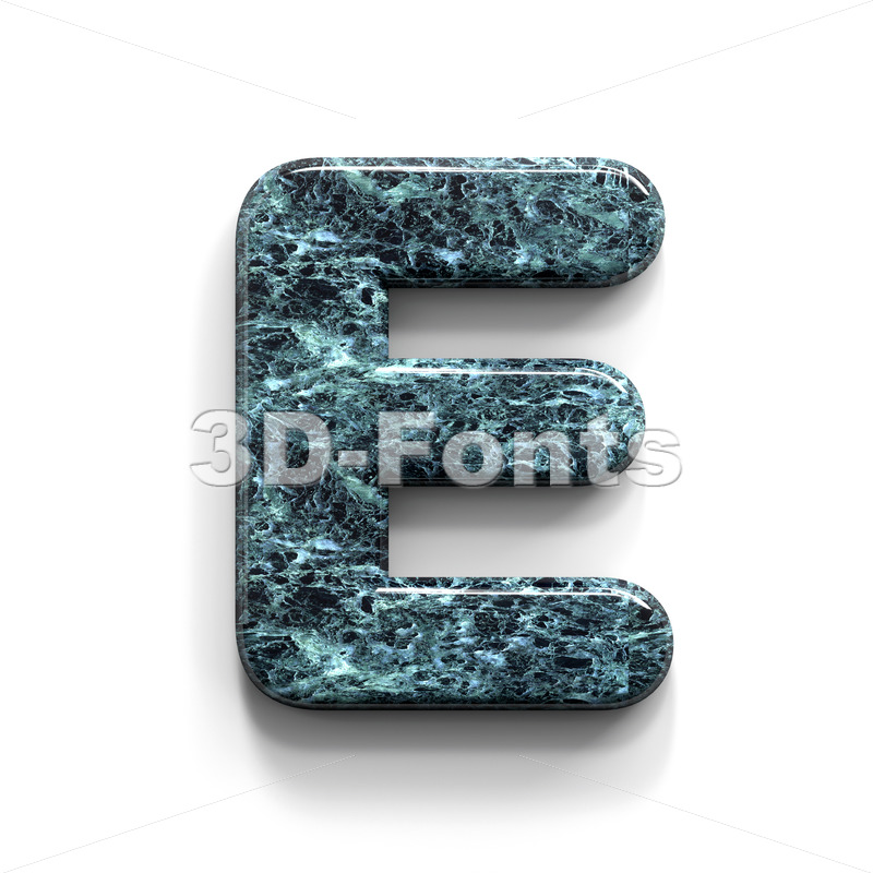 marble character E - Capital 3d letter - 3D Fonts Collections   Top Quality Letters, Numbers and Symbols !