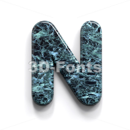 marble font N - Capital 3d letter - 3D Fonts Collections   Top Quality Letters, Numbers and Symbols !