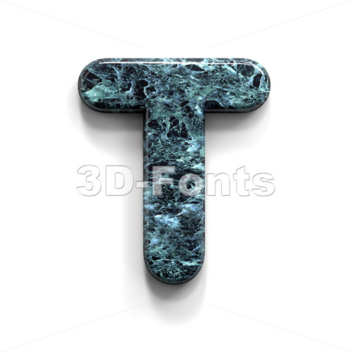 marble stone character T – Uppercase 3d letter – 3D Fonts Collections | Top Quality Letters, Numbers and Symbols !
