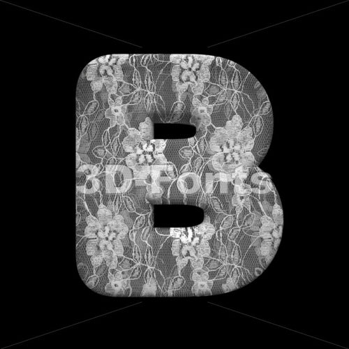 Capital wedding letter B – Uppercase 3d font – 3D Fonts Collections   Top Quality Letters, Numbers and Symbols !