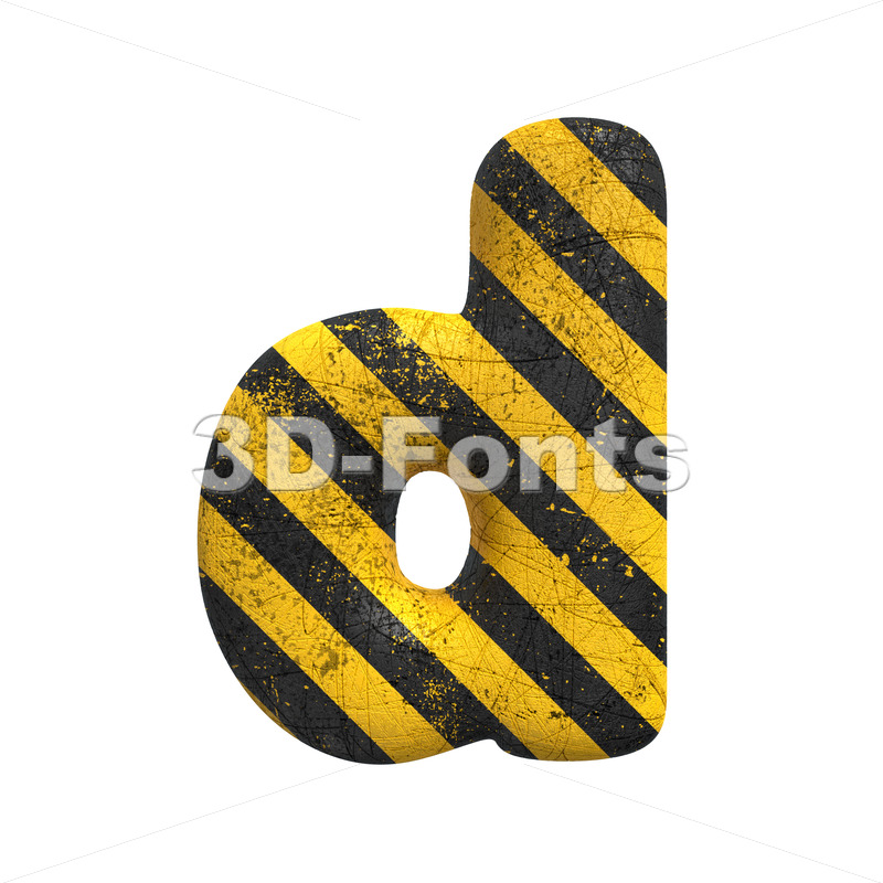 crime alphabet letter D - Lowercase 3d font - 3D Fonts Collections | Top Quality Letters, Numbers and Symbols !