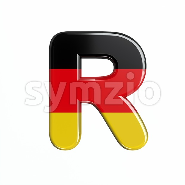 Germany letter R