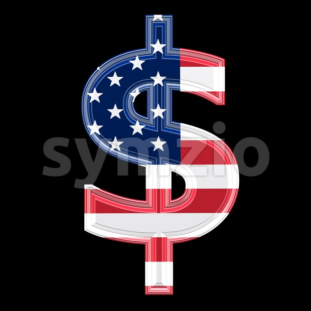 US dollar currency sign