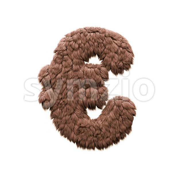 Monster euro currency sign - 3d business symbol Stock Photo